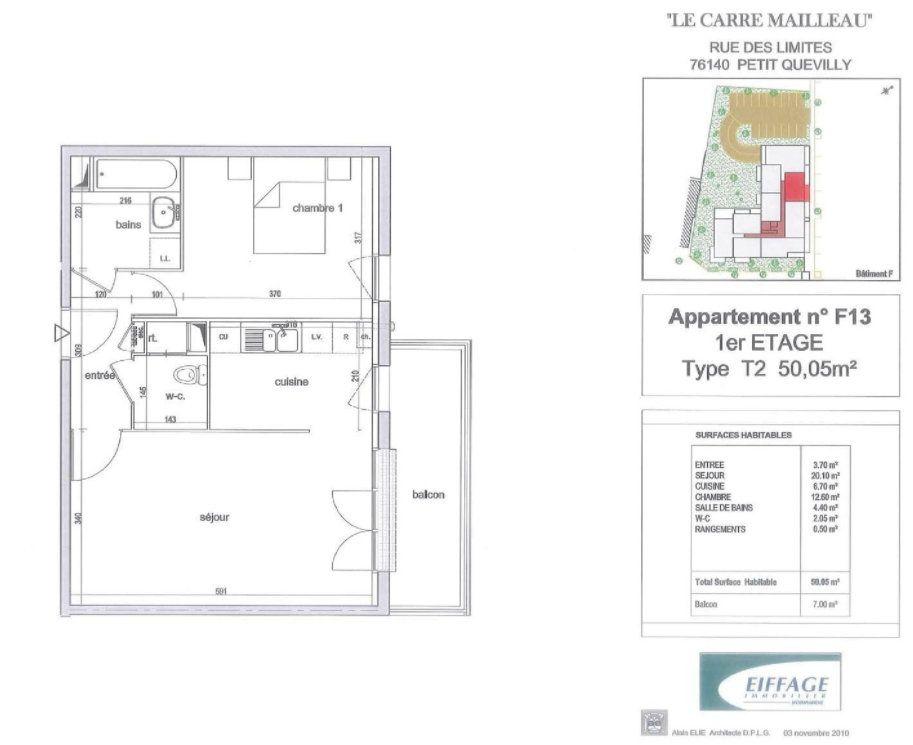 Appartement à louer 2 50.05m2 à Le Petit-Quevilly vignette-8