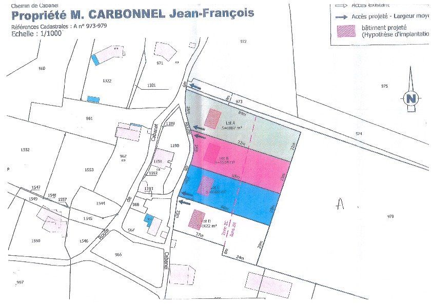 Terrain à vendre 0 1534m2 à Saint-Cirq plan-1