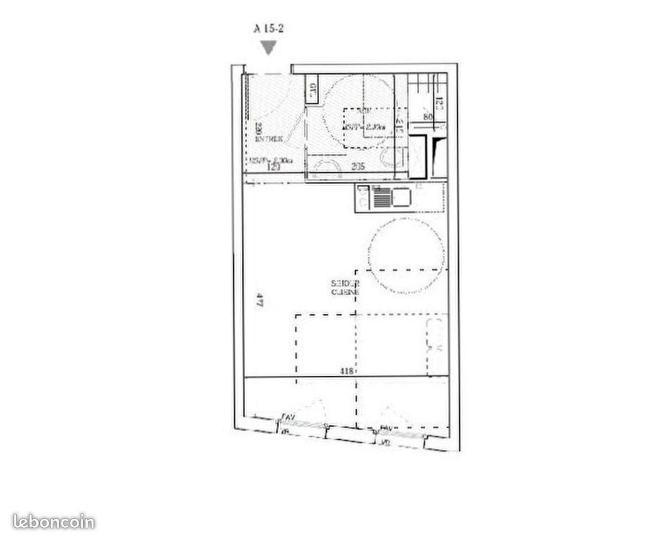 Appartement à vendre 1 26.69m2 à Jouy-le-Moutier vignette-6