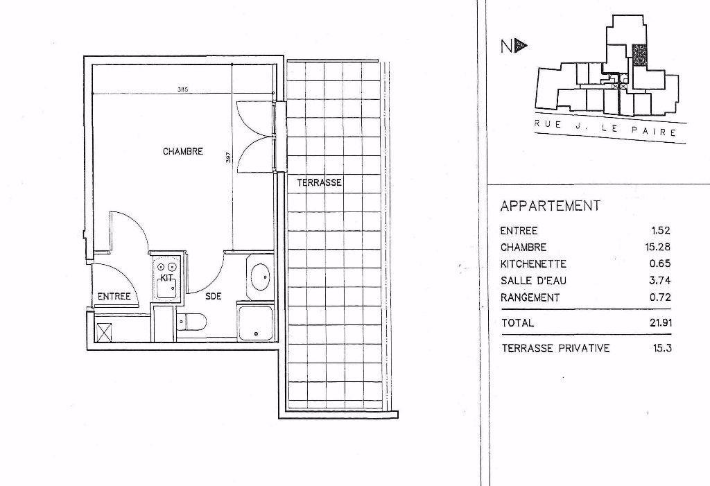 Appartement à louer 1 21.83m2 à Lagny-sur-Marne vignette-5
