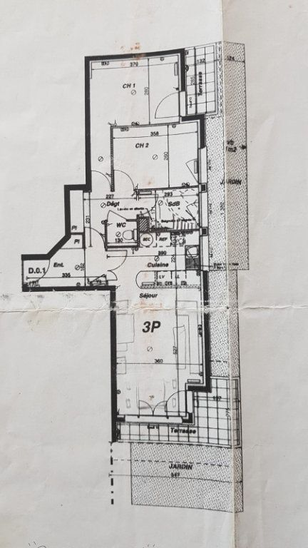 Appartement à louer 3 65.65m2 à Montévrain vignette-13