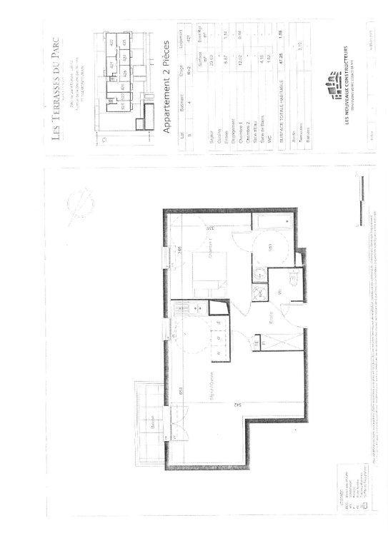 Appartement à louer 2 47.35m2 à Montévrain vignette-5