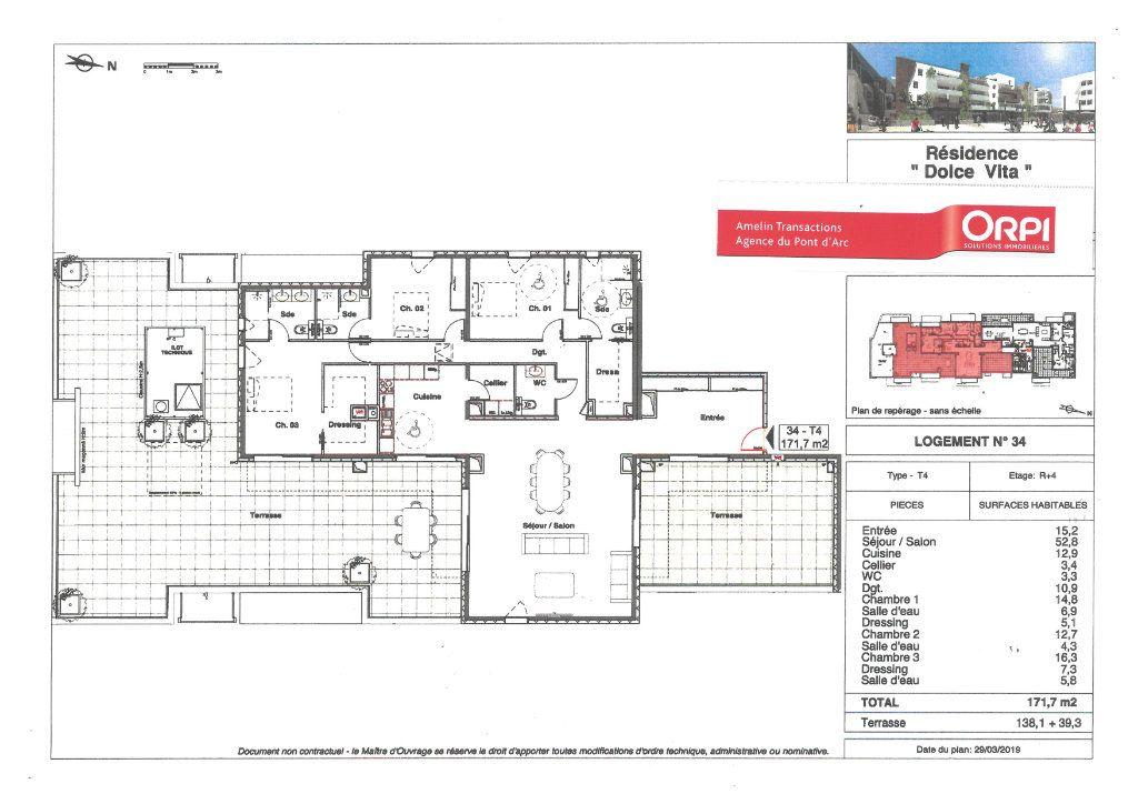 Appartement à vendre 4 171.7m2 à Alès vignette-2