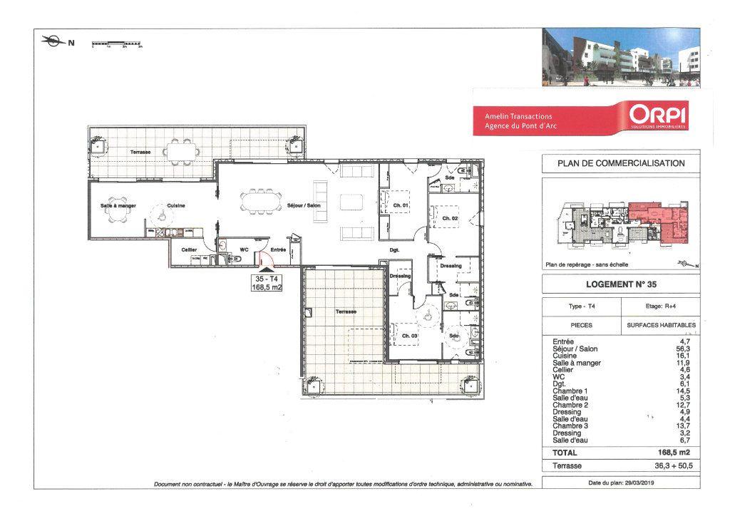 Appartement à vendre 4 168.5m2 à Alès vignette-1