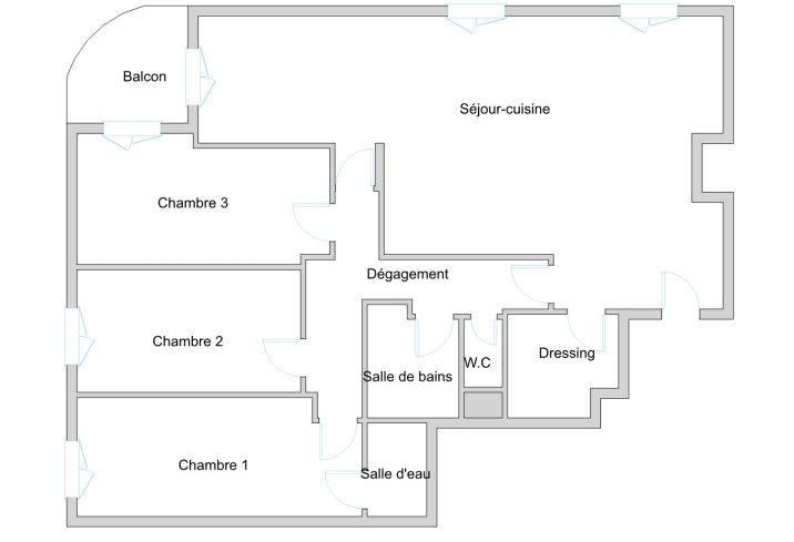 Appartement à vendre 5 101.31m2 à Paris 19 vignette-9