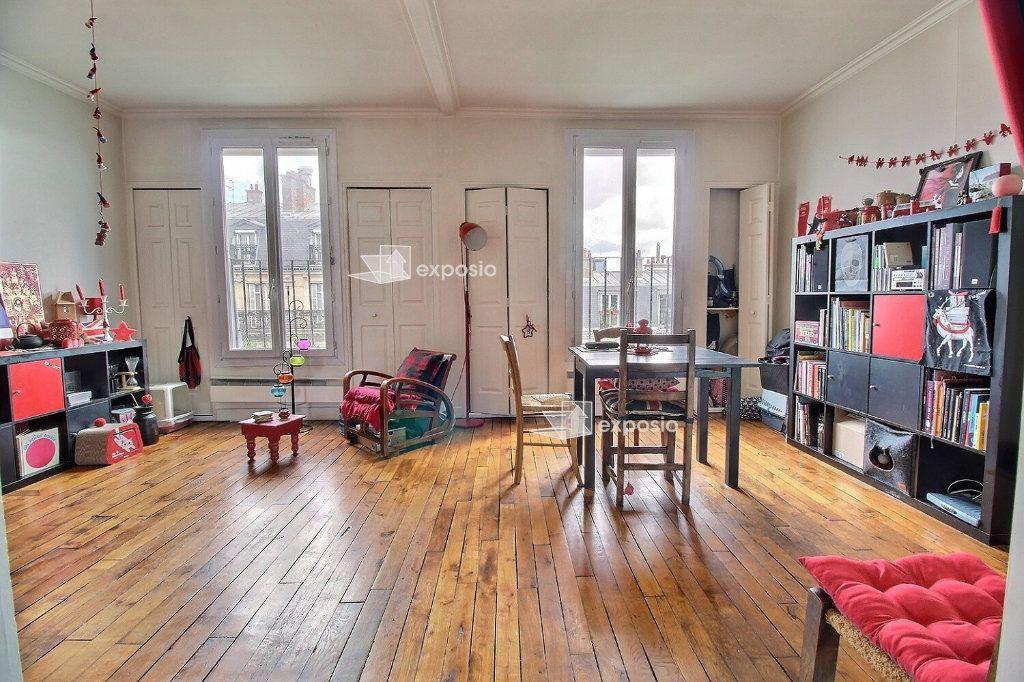 Appartement à vendre 2 38m2 à Paris 20 vignette-2