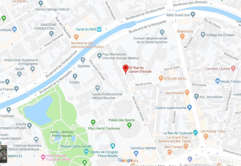 Appartement à louer 1 31.6m2 à Toulouse vignette-4
