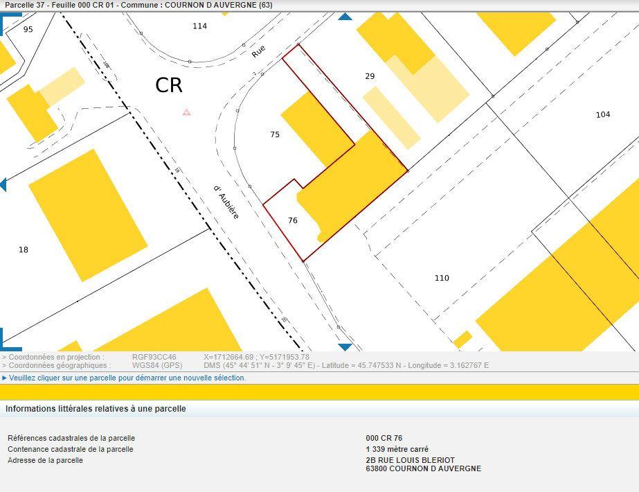 Fonds de commerce à vendre 170m2 à Cournon-d'Auvergne