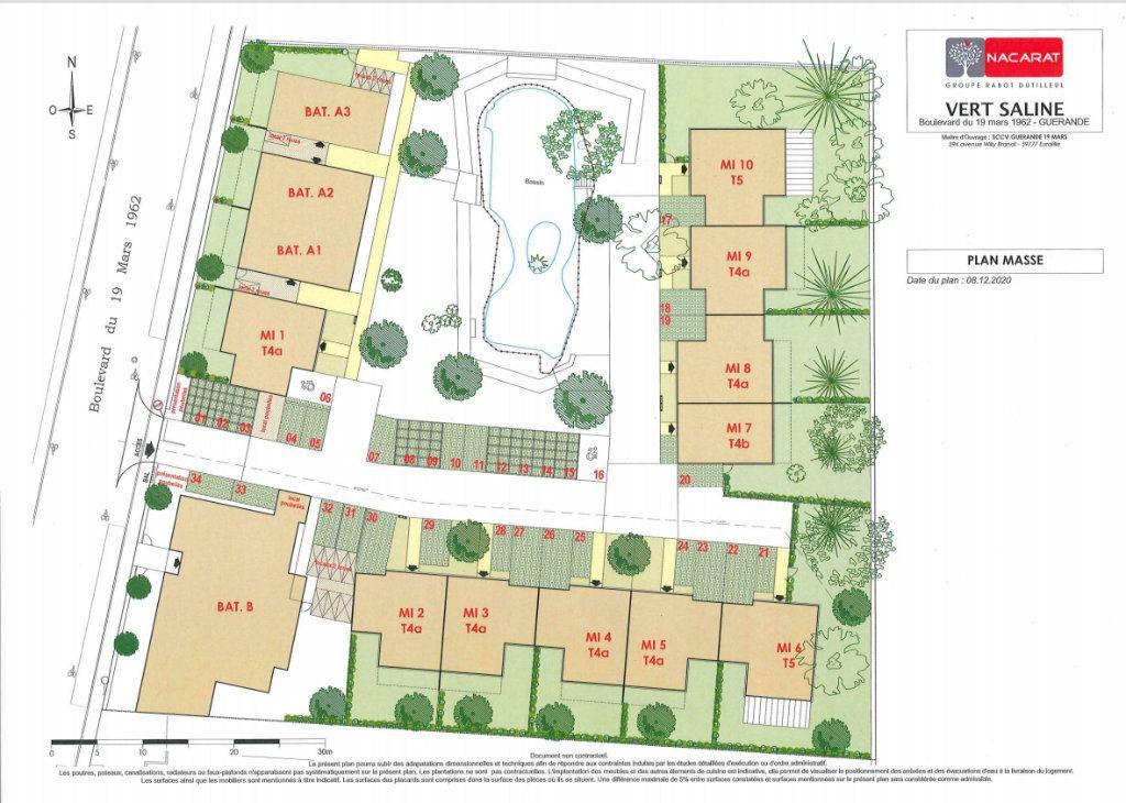 Maison à vendre 4 90m2 à Guérande plan-1