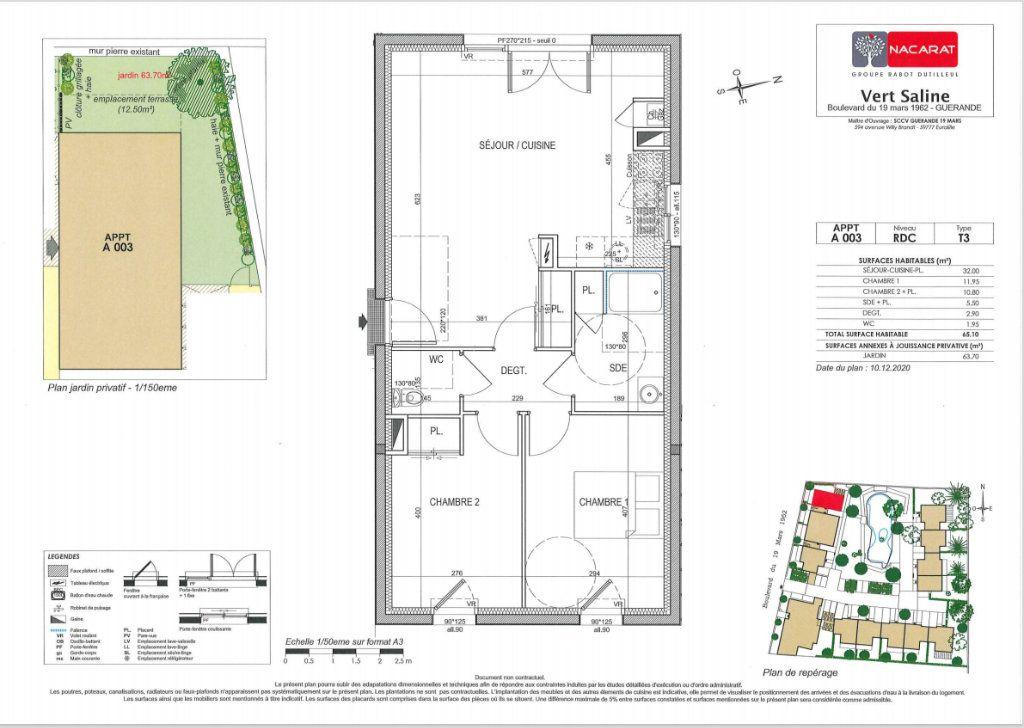 Appartement à vendre 3 65.1m2 à Guérande vignette-4