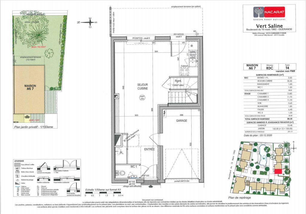 Maison à vendre 4 88.3m2 à Guérande vignette-4