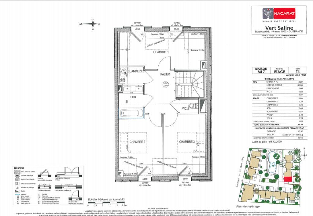 Maison à vendre 4 88.3m2 à Guérande vignette-5