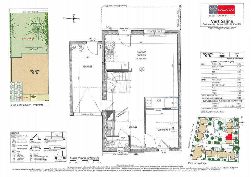 Maison à vendre 4 90m2 à Guérande vignette-4