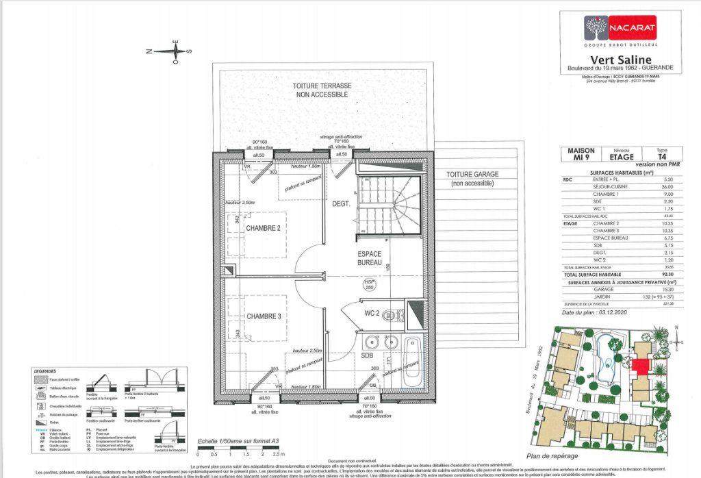 Maison à vendre 4 90.3m2 à Guérande vignette-5