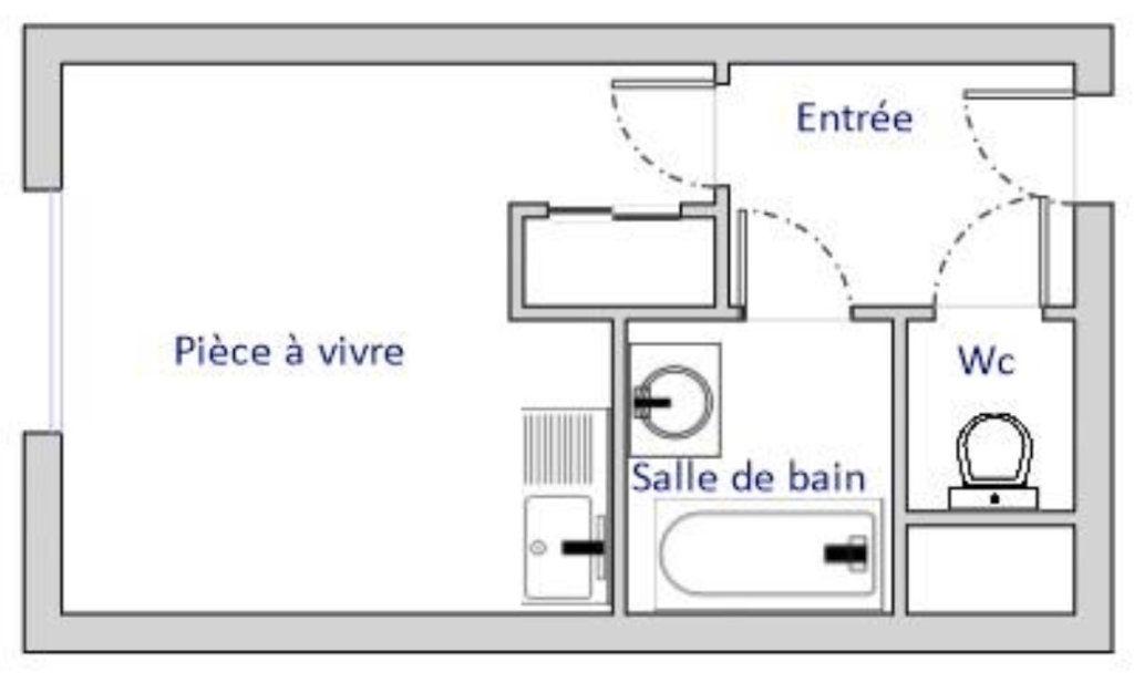 Appartement à vendre 1 20.86m2 à Tassin-la-Demi-Lune vignette-5