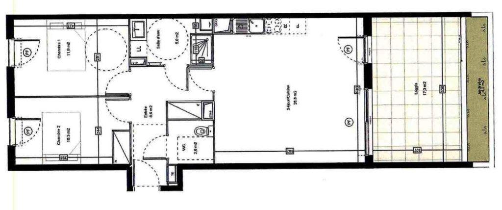 Appartement à louer 3 67.2m2 à Saint-Jean-de-Védas vignette-8
