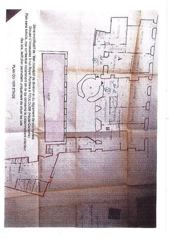 Appartement à vendre 5 137m2 à Toulouse plan-1