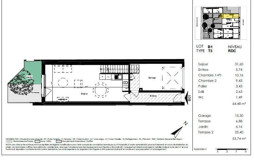 Maison à vendre 3 64.48m2 à Toulouse vignette-6