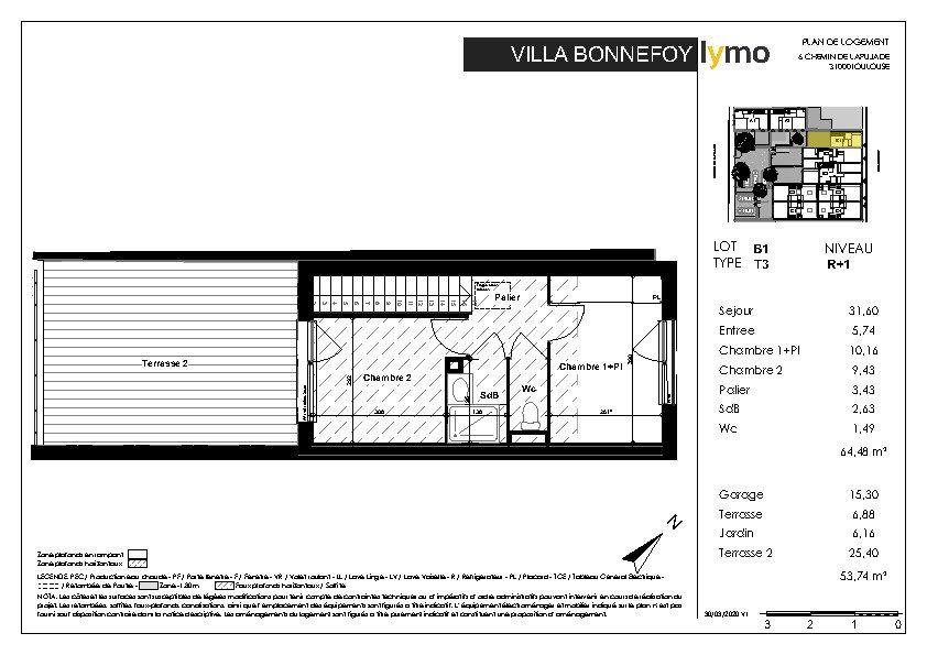 Maison à vendre 3 64.48m2 à Toulouse vignette-7