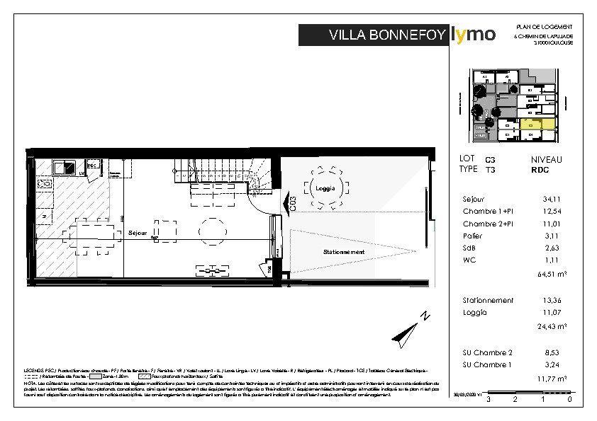 Maison à vendre 3 52.73m2 à Toulouse vignette-4