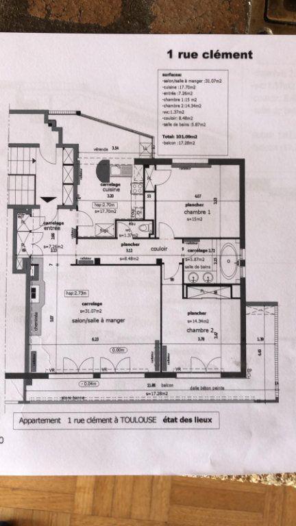 Appartement à vendre 3 101m2 à Toulouse vignette-11