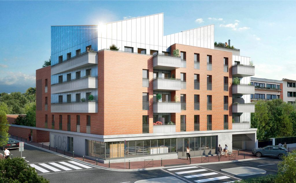 Appartement à vendre 1 22.75m2 à Toulouse vignette-1