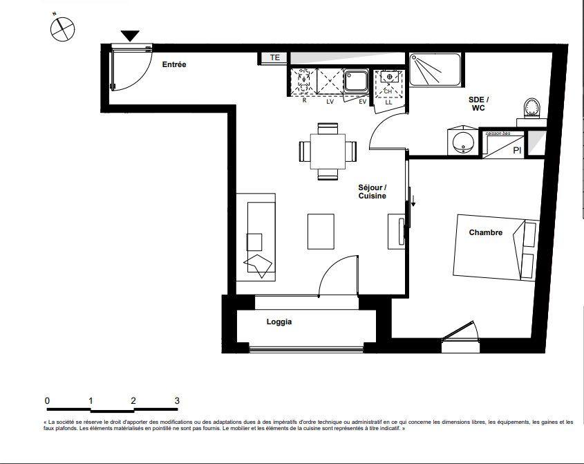 Appartement à vendre 2 44m2 à Toulouse vignette-4