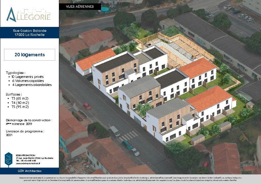 Maison à vendre 3 64m2 à La Rochelle vignette-2