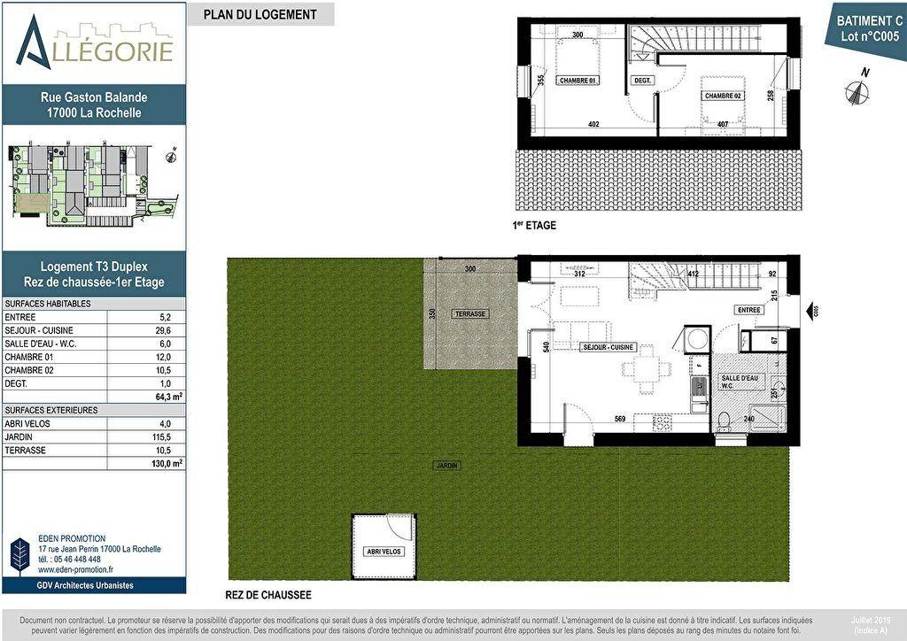 Maison à vendre 3 64m2 à La Rochelle vignette-3