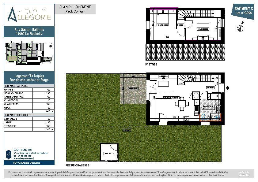 Maison à vendre 3 64m2 à La Rochelle vignette-4