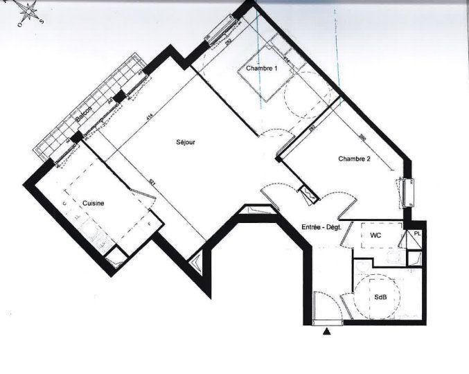 Appartement à vendre 3 65m2 à Aubervilliers vignette-6