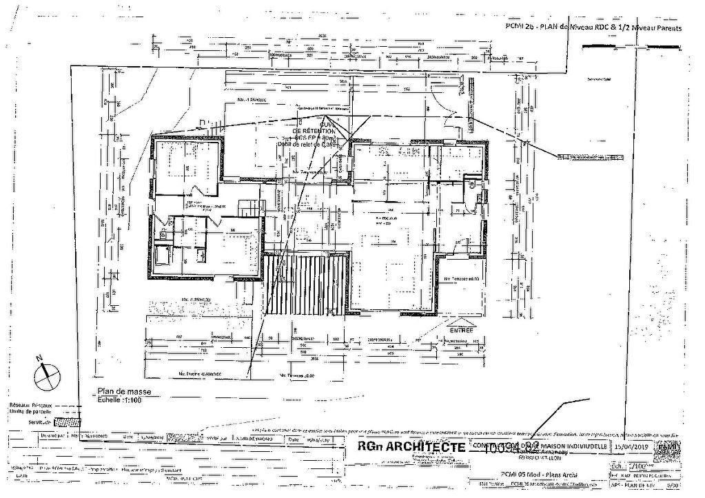 Maison à vendre 7 182m2 à Châtillon plan-1