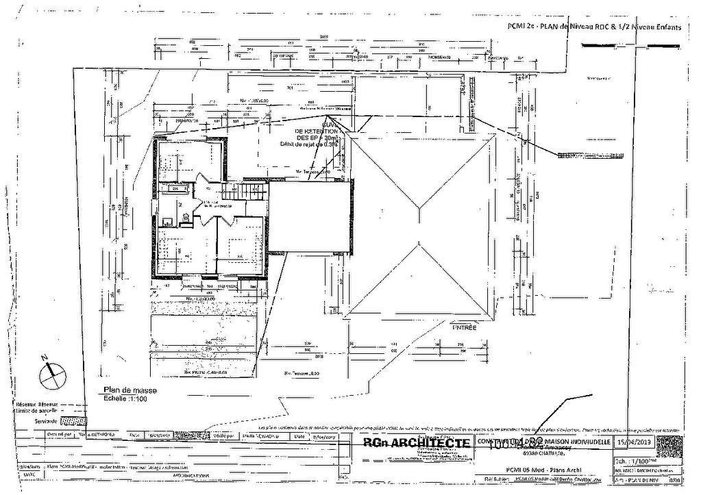 Maison à vendre 7 182m2 à Châtillon plan-2