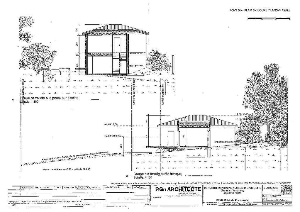 Maison à vendre 7 182m2 à Châtillon plan-3