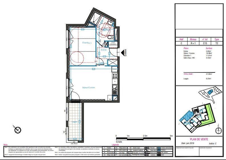 Appartement à vendre 2 42m2 à Nantes vignette-2