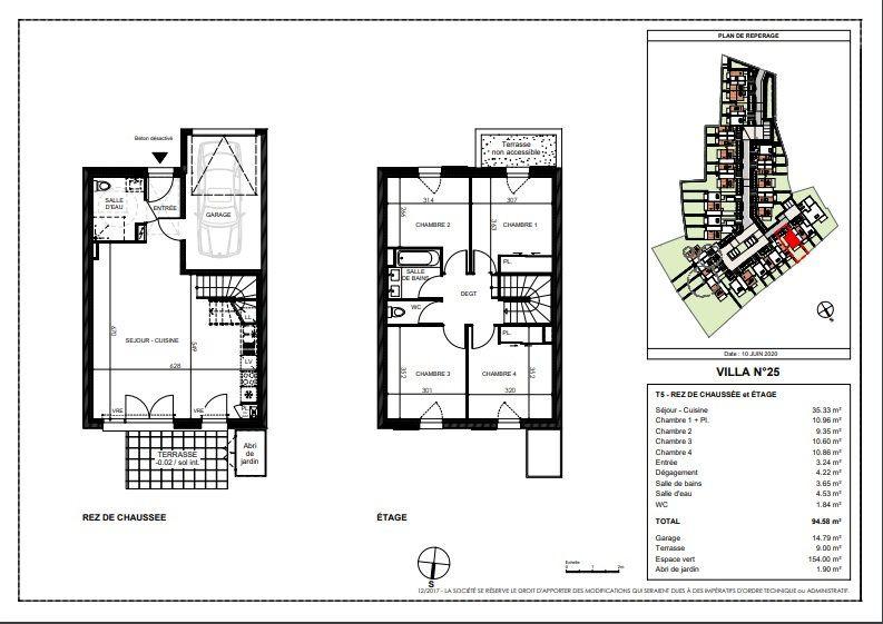 Maison à vendre 5 94.58m2 à Saint-Sébastien-sur-Loire vignette-1