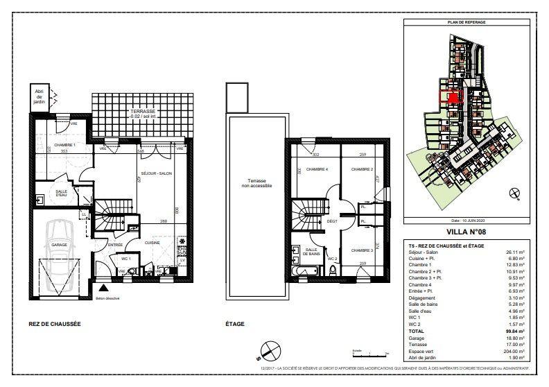 Maison à vendre 5 99.84m2 à Saint-Sébastien-sur-Loire vignette-1