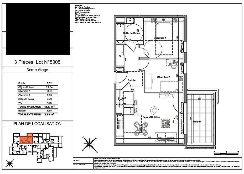 Appartement à vendre 4 75.51m2 à Nice vignette-5