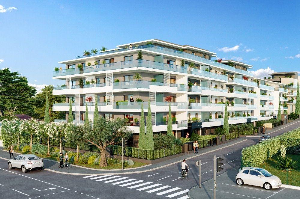 Appartement à vendre 3 58.95m2 à Cagnes-sur-Mer vignette-1