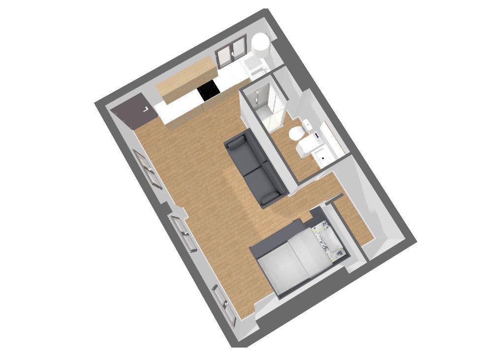 Appartement à vendre 1 28m2 à Paris 20 vignette-2