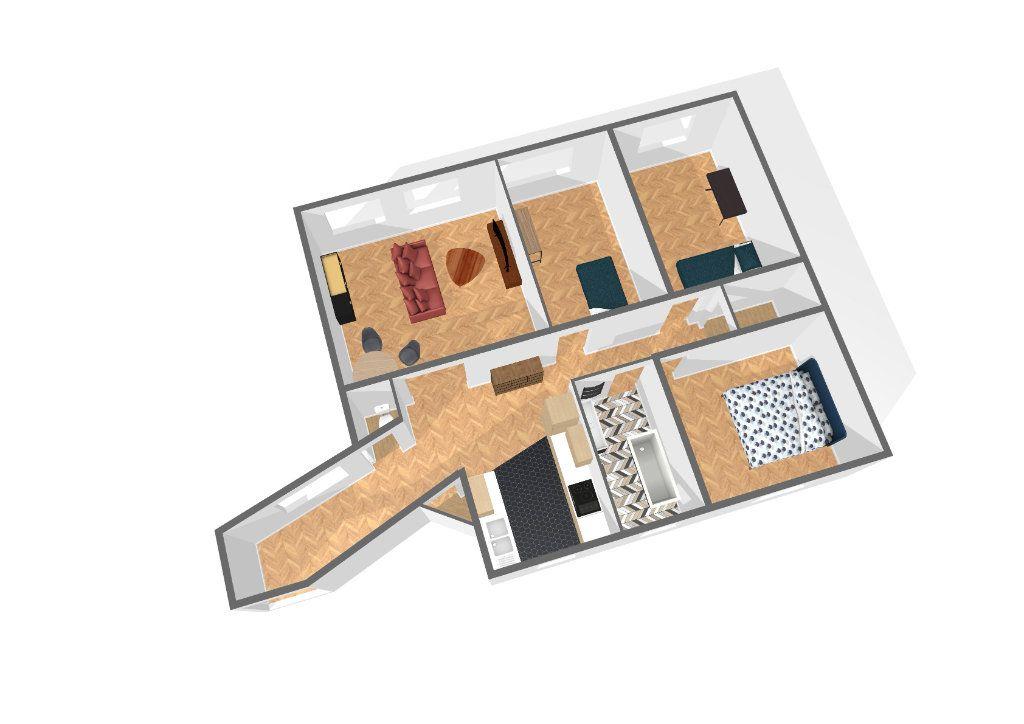 Appartement à vendre 4 94m2 à Paris 19 vignette-1