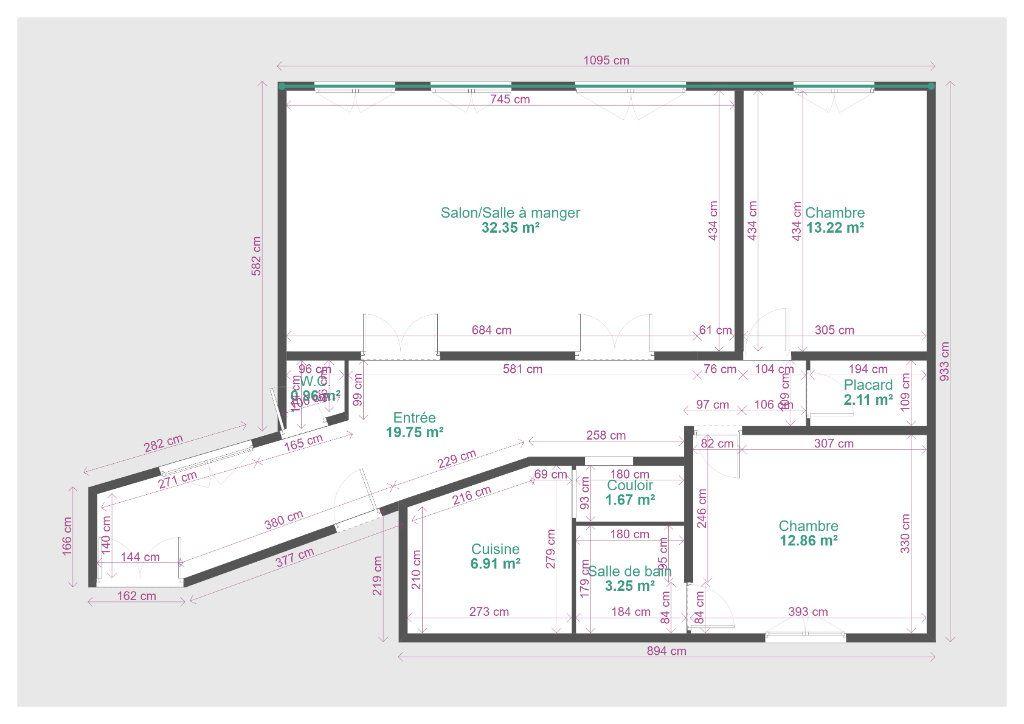 Appartement à vendre 4 94m2 à Paris 19 vignette-13