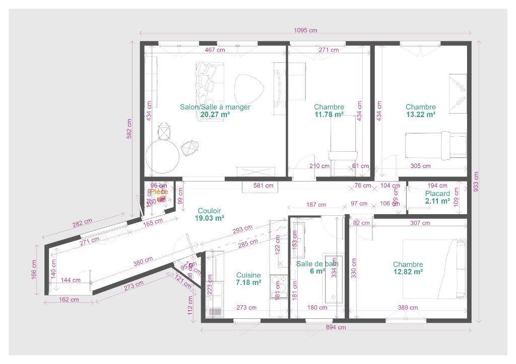 Appartement à vendre 4 94m2 à Paris 19 vignette-14