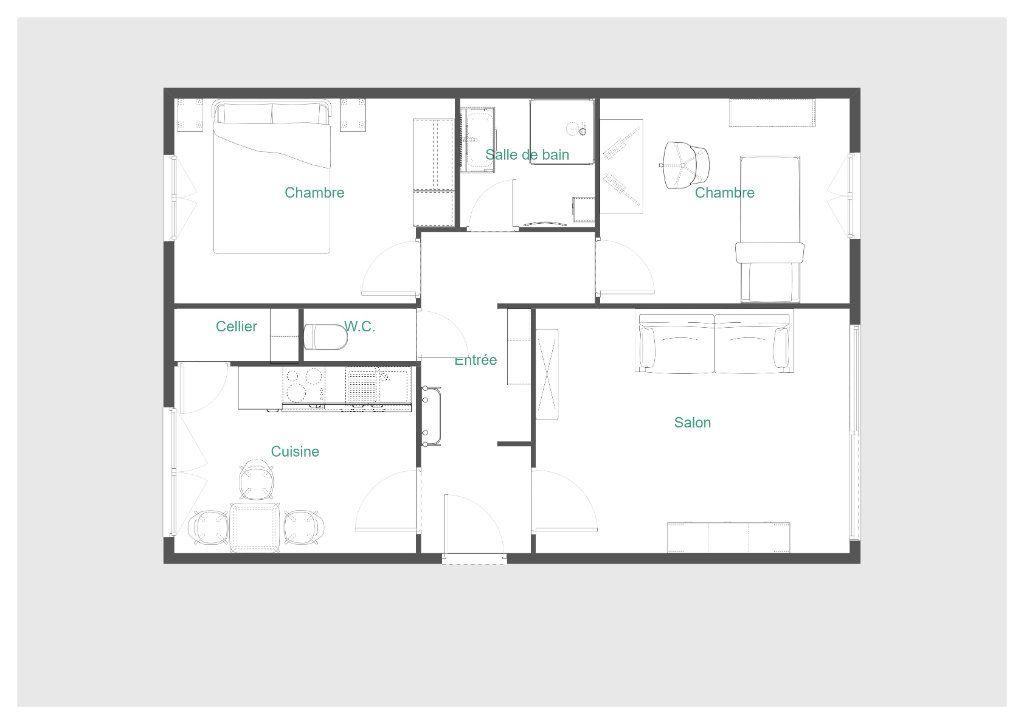 Appartement à vendre 3 57.5m2 à Bondy vignette-2