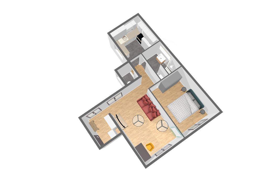 Appartement à vendre 2 45m2 à Paris 14 vignette-1
