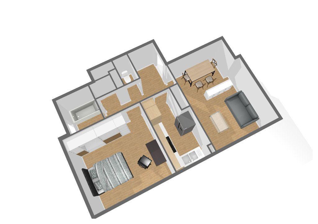 Appartement à vendre 2 51.1m2 à Paris 11 vignette-1