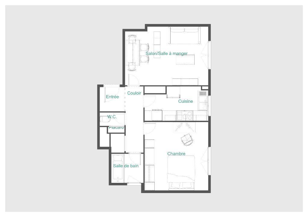 Appartement à vendre 2 51.1m2 à Paris 11 vignette-12