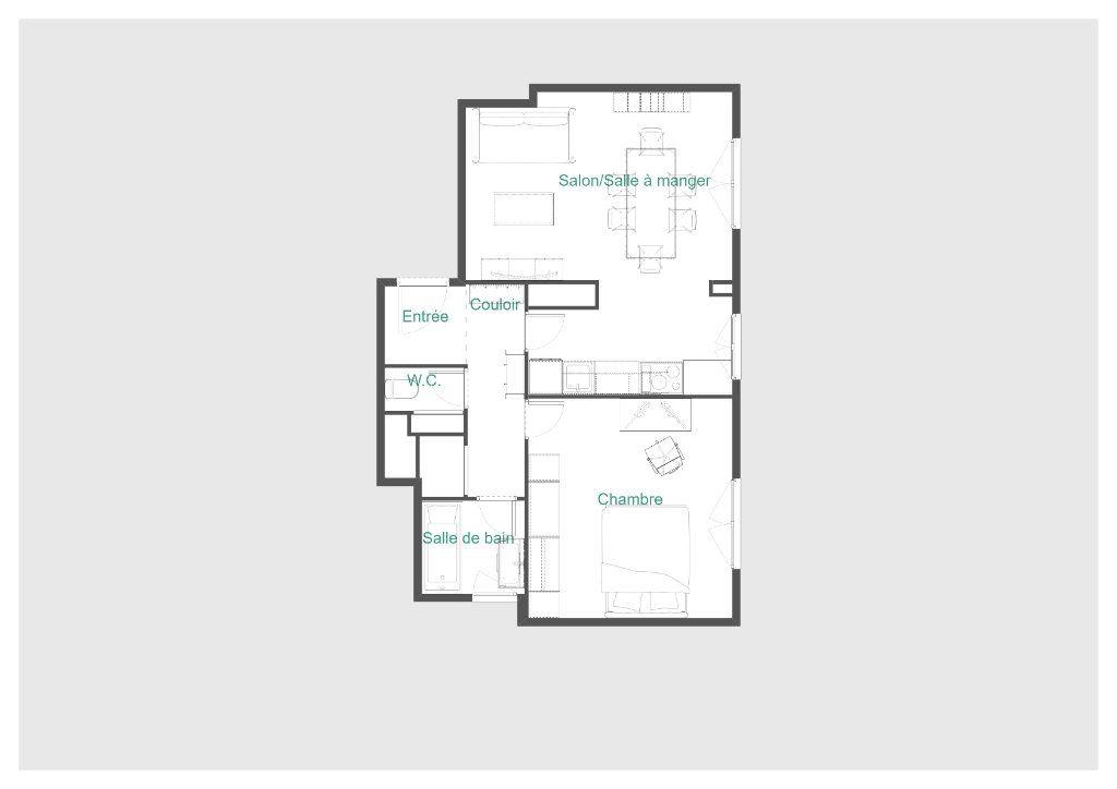Appartement à vendre 2 51.1m2 à Paris 11 vignette-13