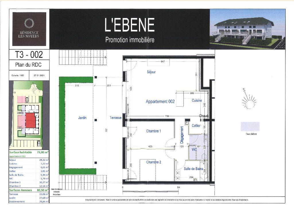 Appartement à vendre 3 73.8m2 à La Biolle vignette-3