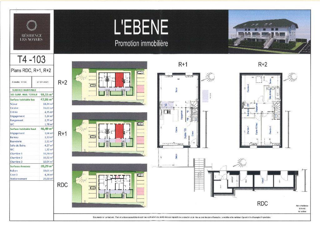 Appartement à vendre 4 18.34m2 à La Biolle vignette-3